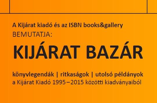 Kijárat Bazár az ISBN-ben!